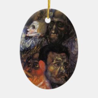 Cabezas de Pavel Filonov- Ornamente De Reyes