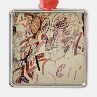 Cabezas de Pavel Filonov- Ornamento Para Reyes Magos