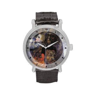 Cabezas de Pavel Filonov- Reloj