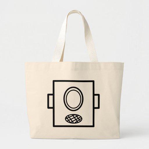Cabezas del robot bolsa