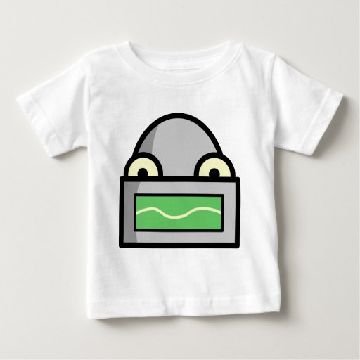 Cabezas del robot camiseta