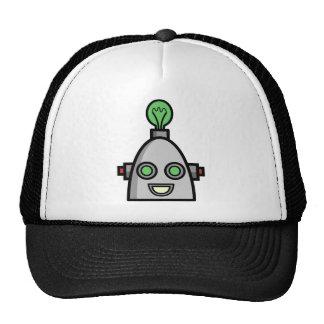 Cabezas del robot gorras