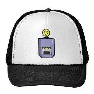 Cabezas del robot gorras de camionero