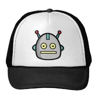 Cabezas del robot gorros