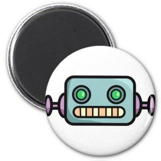 Cabezas del robot imán redondo 5 cm