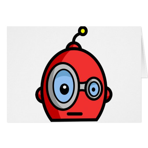 Cabezas del robot tarjeton