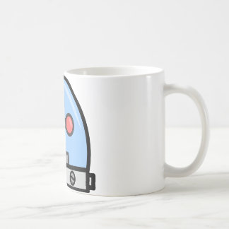 Cabezas del robot taza clásica