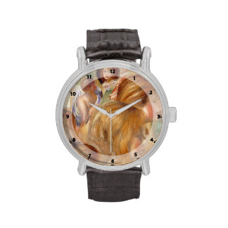 Cabezas del ` s de los niños de Pierre-Auguste Ren Relojes De Pulsera