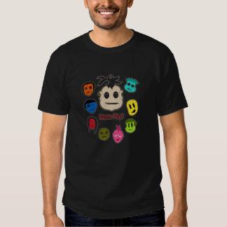 Cabezas del vudú camisas