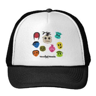 Cabezas del vudú gorras de camionero