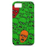 Cabezas del zombi de los Undead iPhone 5 Cárcasa