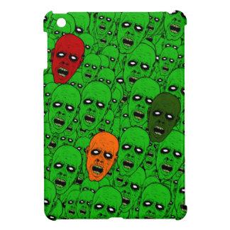 Cabezas del zombi de los Undead, ojos que brillan