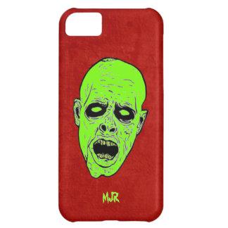 Cabezas del zombi del verde de los Undead del mono Funda Para iPhone 5C