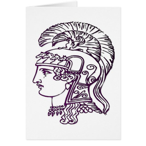Cabezas romanas felicitacion
