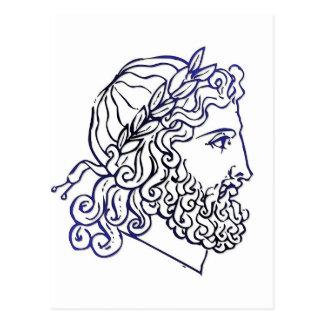Cabezas romanas postales