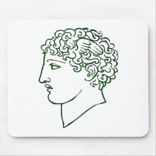 Cabezas romanas tapete de raton
