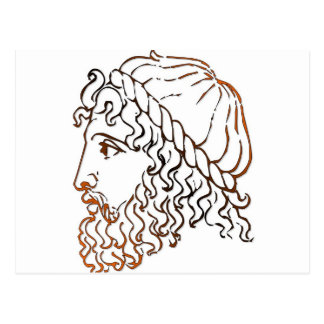 Cabezas romanas tarjetas postales