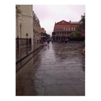 Cabildo In Rain, New Orleans Postcard