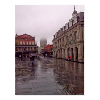 Cabildo In Rain, New Orleans Postcard