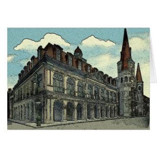 Cabildo: New Orleans Card