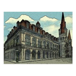 Cabildo: New Orleans Postcard