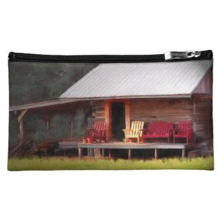 Cabin Adirondacks Cosmetic Bag