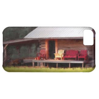 Cabin Adirondacks iphone 5 Case
