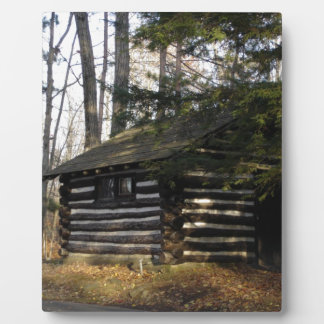Cabin at the Pa Grand Canyon -Leonard Harrison Pk Plaque