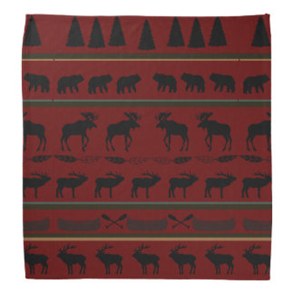 Cabin Blanket Design by LH Bandana