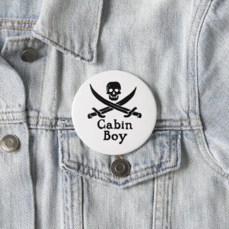 Cabin Boy Button