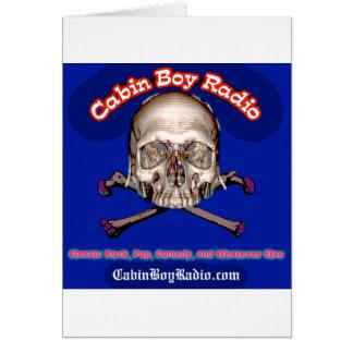 Cabin Boy Radio Card