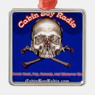 Cabin Boy Radio Metal Ornament