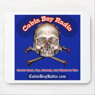 Cabin Boy Radio Mouse Pad