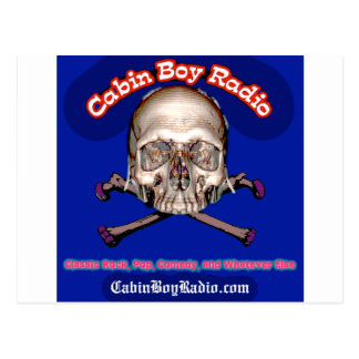 Cabin Boy Radio Postcard