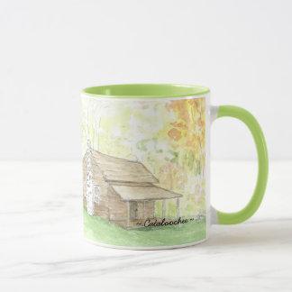 Cabin Catalochee  Glass coffee mug