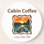 Cabin Coffee Beverage Coasters