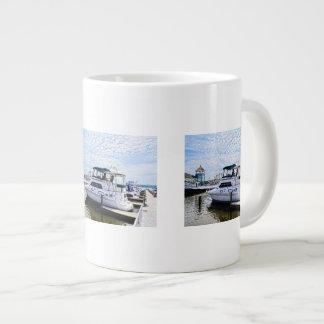 Cabin Cruisers by Founders Park Alexandria VA Large Coffee Mug