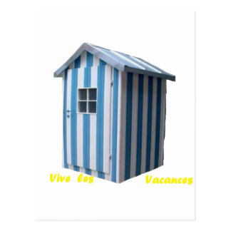 CABIN DEAUVILLE.png BEACH Postcards