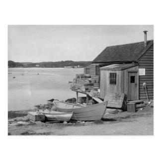 Cabin del pescador, 1900 tarjetas postales
