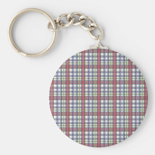 Cabin Fever Plaid Keychains