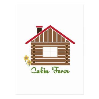 Cabin Fever Postcard