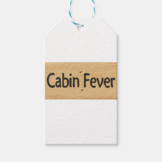 Cabin Fever Sign Gift Tags