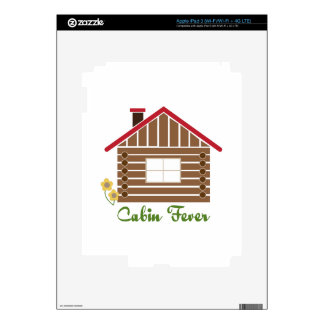 Cabin Fever Skin For iPad 3