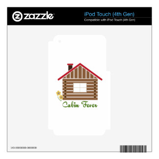 Cabin Fever Skins For iPod Touch 4G