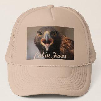 Cabin Fever Trucker Hat with Golden Eagle