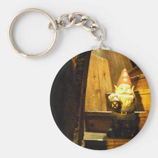Cabin Gnome Keychain