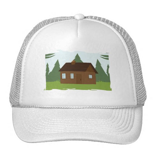 Cabin in the Trees Mesh Hats