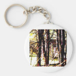 Cabin in the Woods Key Chains