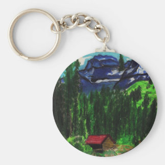 CABIN IN THE WOODS keychain