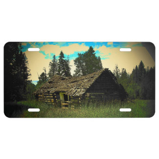 Cabin in the Woods License Plate